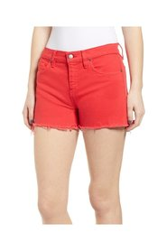 Jeans R Gemma Mid Rise Cut Off Zip-Fly