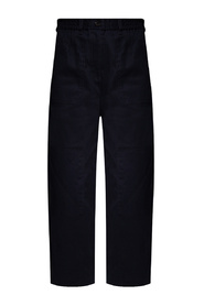 Trousers with stitching details