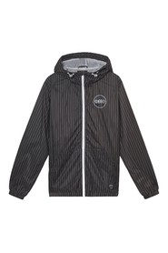 Pinstriped Windbreaker