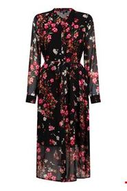 Dress Long Flower Print