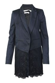 Long Blazer Lace Coat
