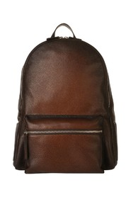 LEATHER BACKPACK MICRON DEEP