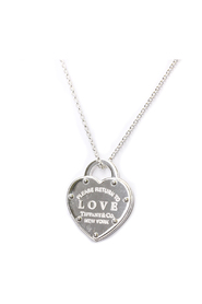 Return To Tiffany Love Necklace 36340509 Silver 925
