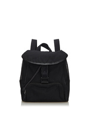 Canvas Mesh Backpack