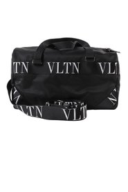 Duffel bag with logo