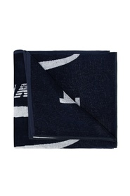 Towel with logo