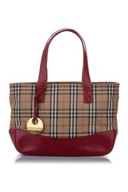 Haymarket Check Canvas Tote Bag