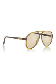 Pre-owned Round Tinted Sunglasses