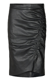 Harvie Leather Skirt