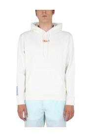 Sweatshirt With Embroidered Logo