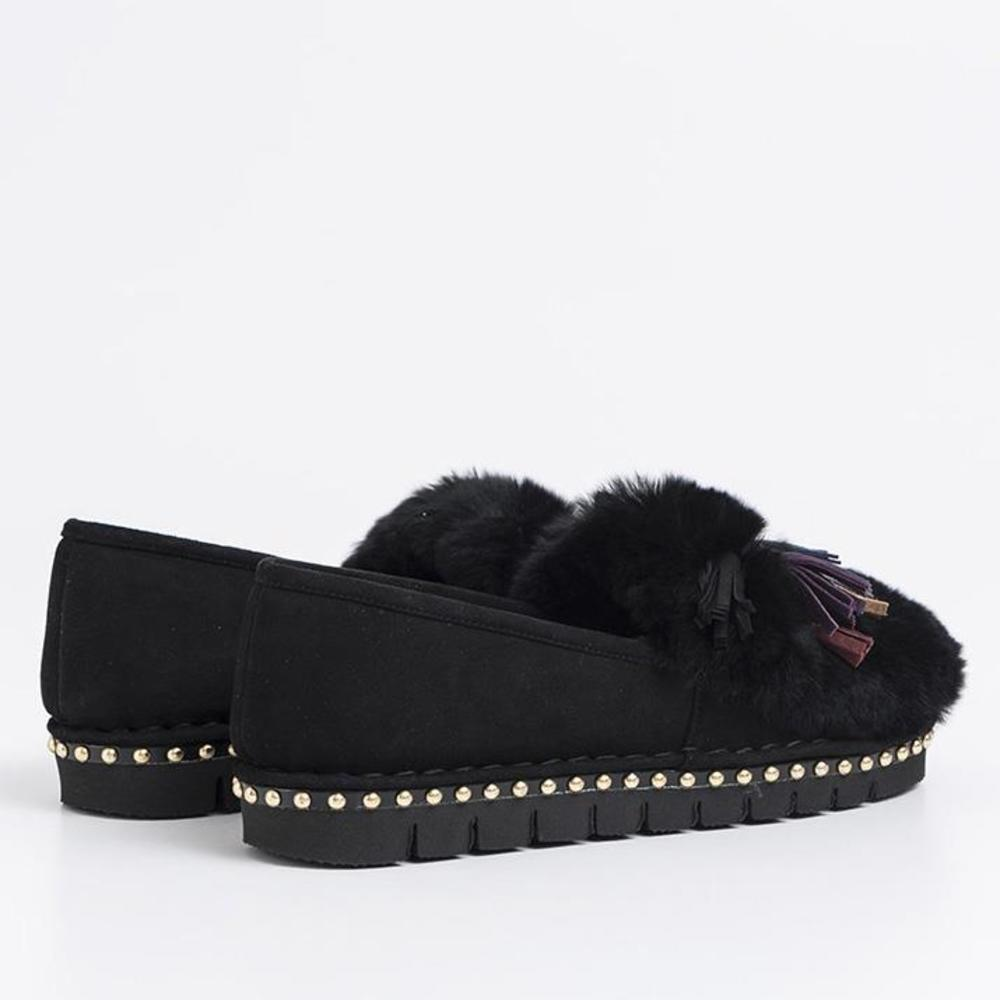 Sofia M. Black Flat shoes Sofia M.