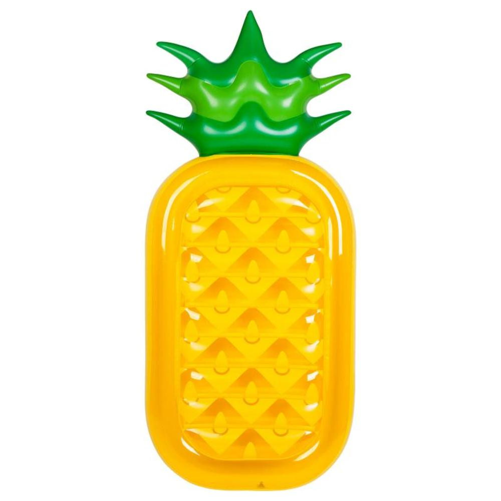 Luxe opblaas luchtbed Ananas