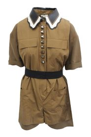 Pre-owned Collared Playsuit