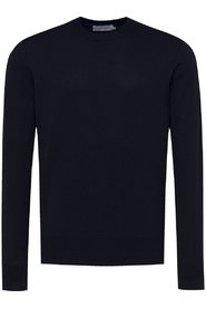 Cotton Logo Embroidery Sweater