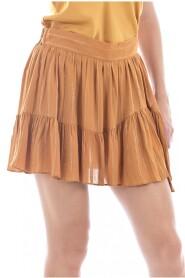 Mini jupe doublée short
