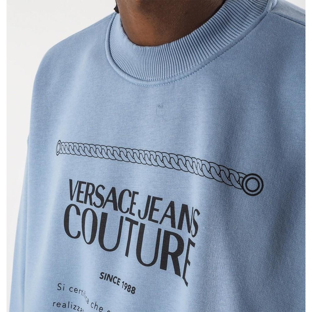 Blue sweatshirt   Versace Jeans Couture   Hoodies  sweatvesten   Heren winter kleren