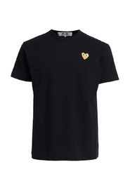 T-shirt Play girocollo nero