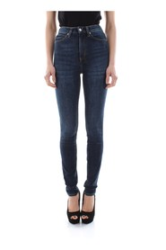 CALVIN KLEIN JEANS J20J207762 - 010 HIGH RISE JEANS Women DENIM DARK BLUE
