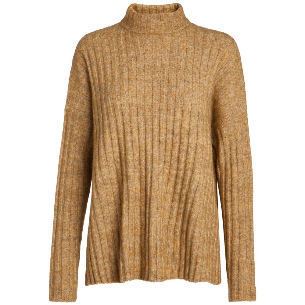 Pullover High neck wool