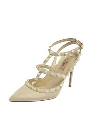Pre-owned Pointed Toe Ankle Strap Sandals