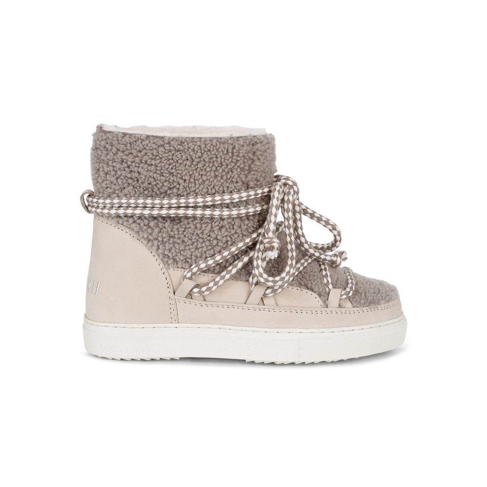 Rosa Champagne Gloss Sneakers Sko | Inuikii | Vintersko
