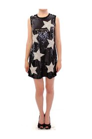 Masterpiece crystal swarovski stars sheath dress