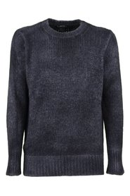 Washed effect sweater