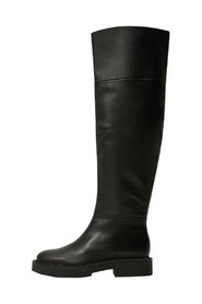 Boots with tall leg