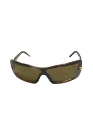 Rimless Wrap-Around Sunglasses