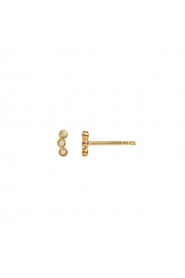 ørering - Three Dots Piece Earring, Gold