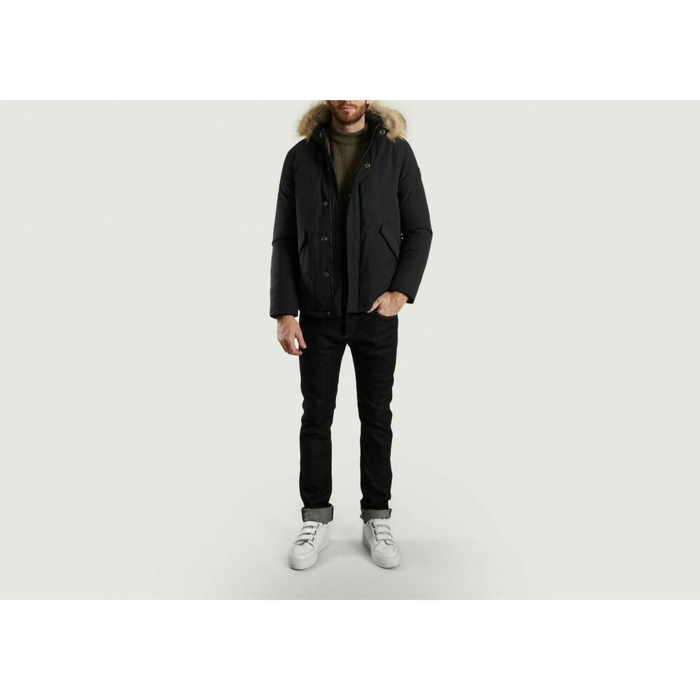 Just Over The Top Navy Blue Windsor Parka Just Over The Top