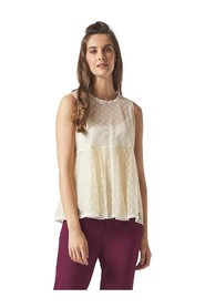 BLOUSE WITHOUT SLEEVES
