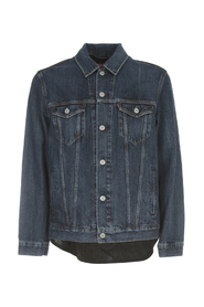 DENIM JACKET LEVIS COLLABORATION W/CHECK ON BACK