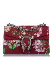 Dionysus Blooms Leather Shoulder Bag