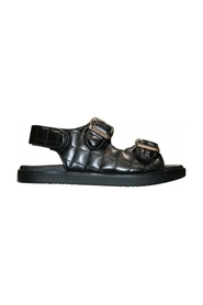 ZOE OS QUILTED SANDALS