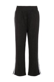 Wide-leg trousers dotted