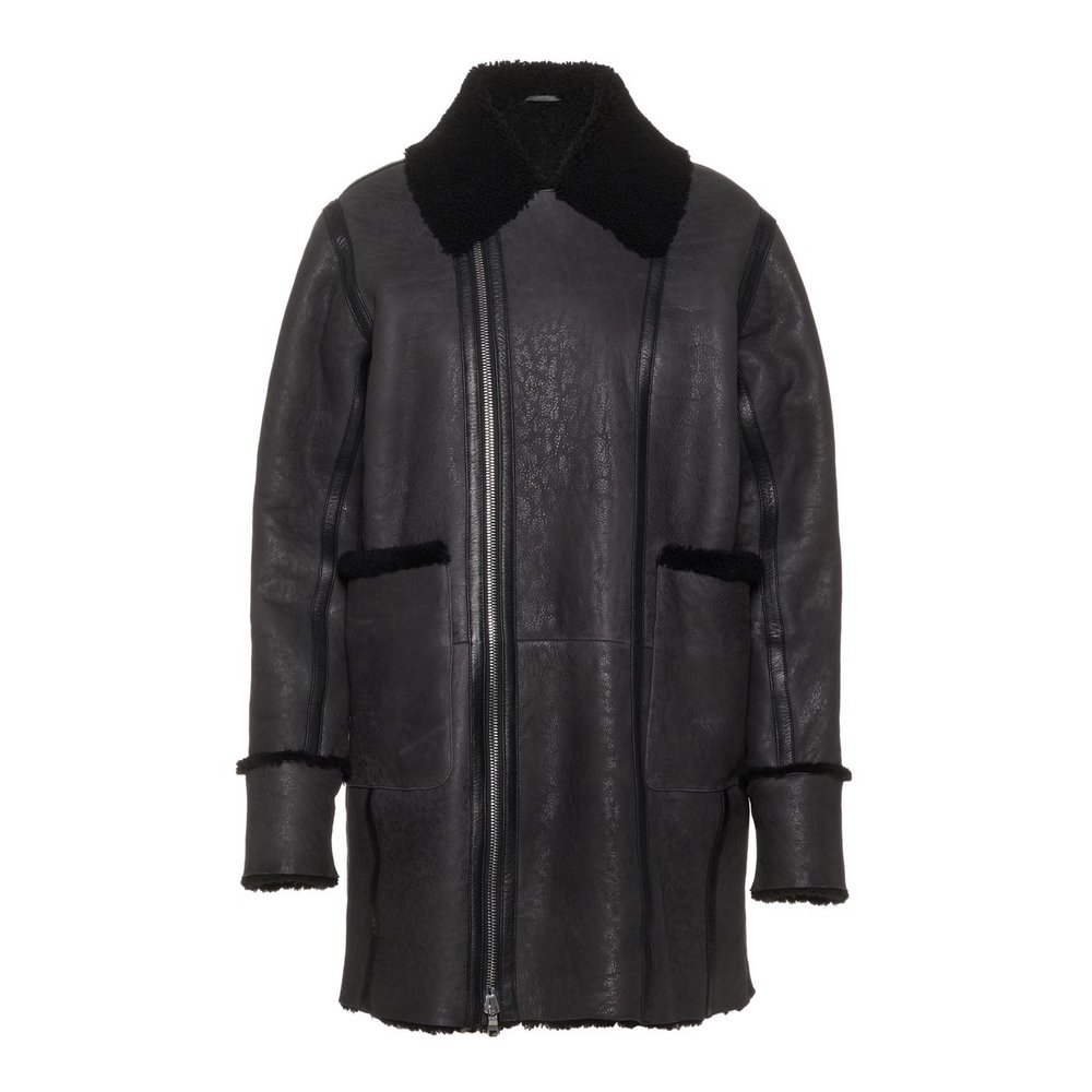 Jas Laura Distressed Shearling