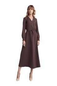 Sukienka za pół łydki