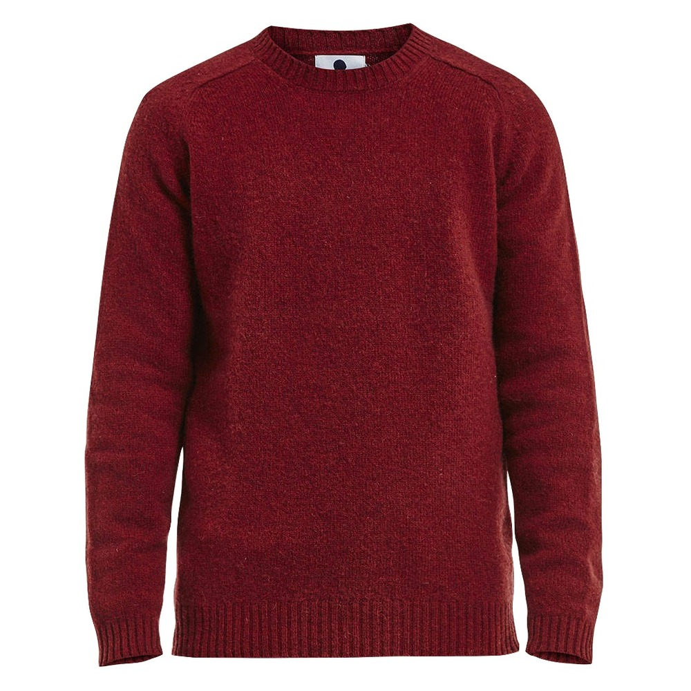 NN07 Nathan Sweater Washed Red