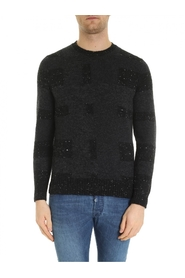 wool blend crew neck DL8WS103 002