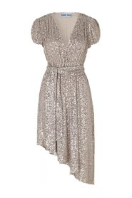 CHLOE DRESS - Champagne Sequins