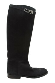 Pre-owned Leather Jumping Boots