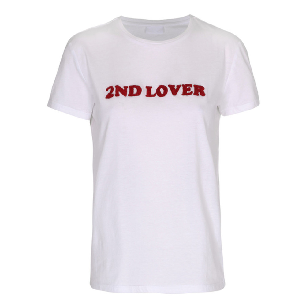 2nd lover t-shirt white 2nd day