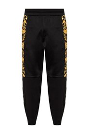 Baroque motif sweatpants