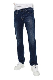 DIESEL SAFADO-X 0870F JEANS Men DENIM MEDIUM BLUE