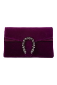 Super Mini Dionysus Velvet Crossbody Bag