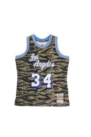 CANOTTA BASKET NBA TIGER CAMO SWINGMAN JERSEY HARDWOOD CLASSICS NO34 SHAQUILLE ONEAL 1996 LOSLAK