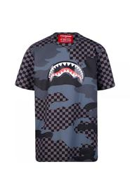 T-SHIRT SHARKS IN PARIS CHECHERED
