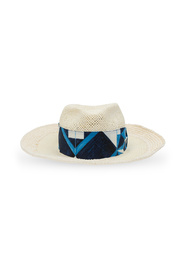 Hat with patterned band
