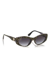 Oval Tinted Sunglasses